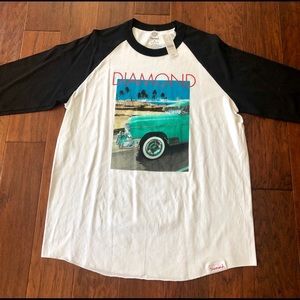 Diamond Supply company 3/4 tee